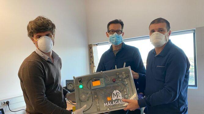 Los nuevos respiradores 'Málaga Respira 3' de Málaga Ignacio Díaz de Tuesta Revilla